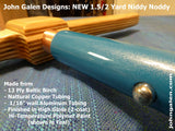 Convertible Niddy-Noddy (1.5 - 2 yd.) Ltd. Edition Teal and Baltic Birch