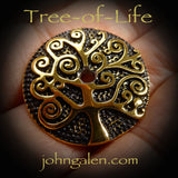 Tahkli Support Spindle No.638-641 - Tree of Life - FREE SHIPPING