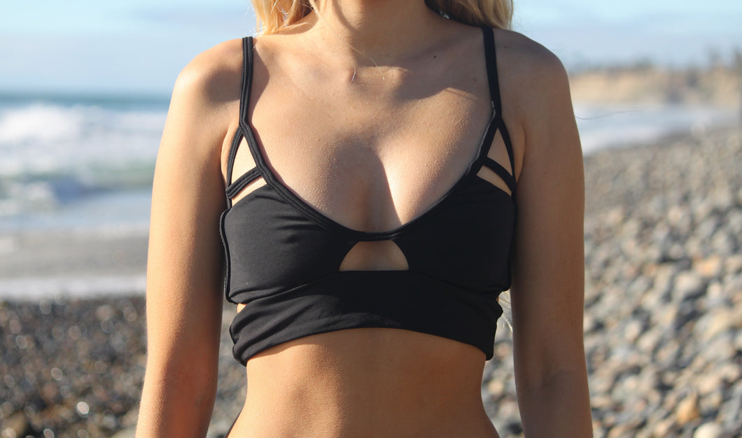 Strappy Top - Black