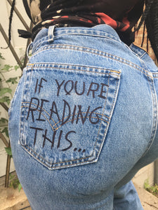 Stop Looking Jeans