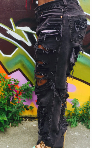Chopped & Screwed Jeans (Black)