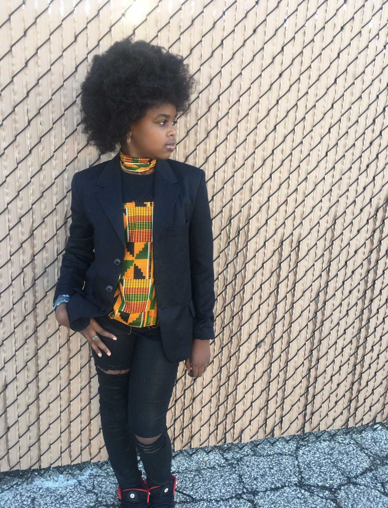 We Royalty Kente Tee (Childrens Size)