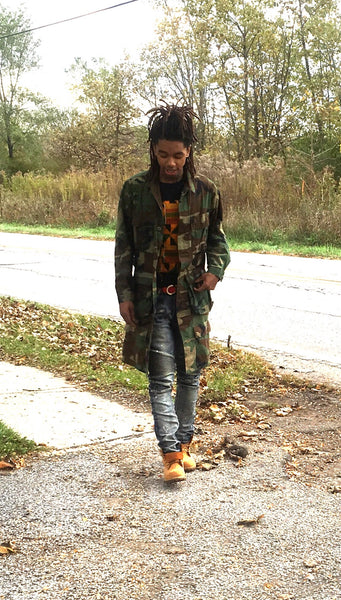 1/4 Length Custom Camo Jacket