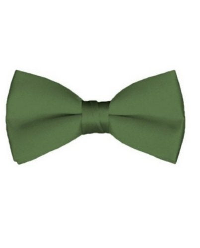 NYFASHION101 Men's Solid Color Adjustable Pre-Tied Bow Tie
