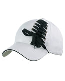 C.C Interchangeable Shoelace Two Tone Adjustable Precurved Baseball Cap Hat