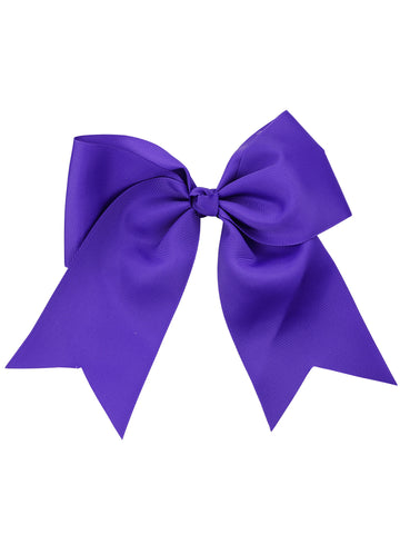 NYFASHION101 Women's Girls' Smooth Grosgrain Ribbon Bow Alligator Clip