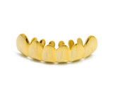 Hip Hop Rapper's Style Dental Grillz in Gold-Tone, FHS001G