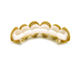 Hip Hop Rapper's Style Dental Grillz in Gold-Tone, FHL1C1G