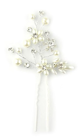 Triangle Shape Branch & Flower Design Hair Stick