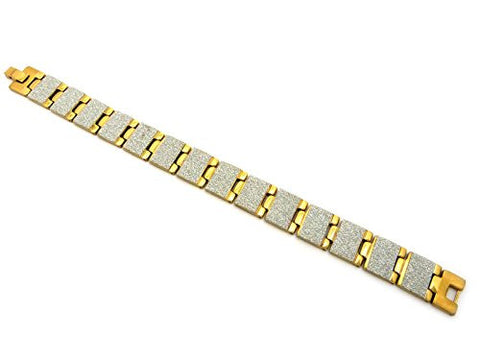 Watch Band Style Square Link Bracelet