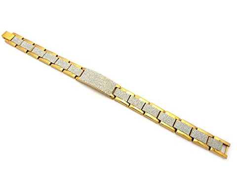 Watch Band Style Link Bracelet