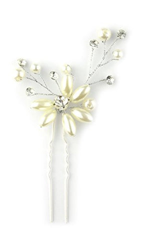 Elegant Flower Design Hair Stick for Ladies