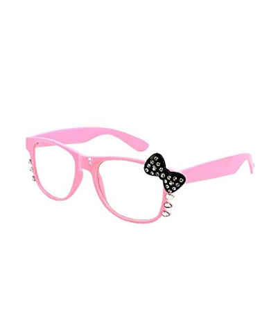 NYfashion101 (TM) Character Kitty UV400 Protection Clear Shade w/ Rhinestone H2090-6