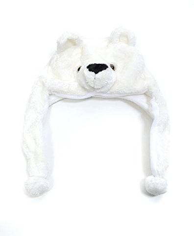 Hat-imals Polar Bear Plush Winter Hat