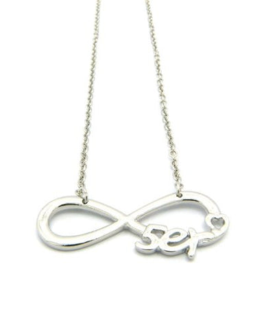 5er Infinity Heart Necklace