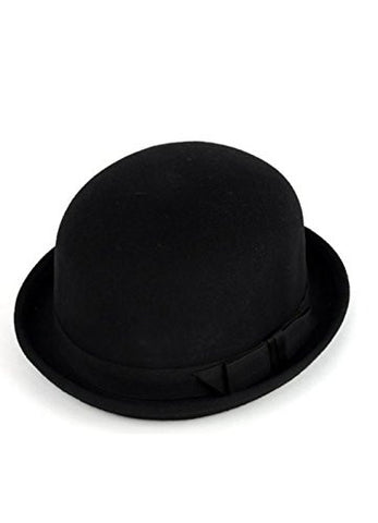 Men's Wool Fedora Hat w/ Ribbon accent around the Center BF8364