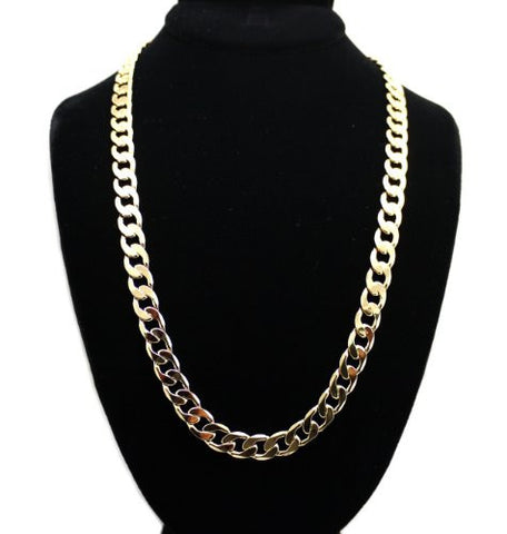 Unisex Cuban Link Chain Necklace