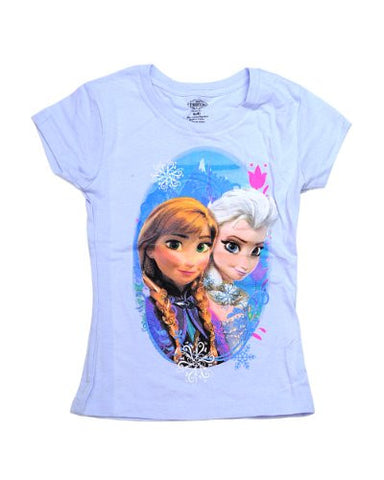 Official Disney Frozen Sisterly Love Ana & Elsa Toddler/Kid Size T-Shirt