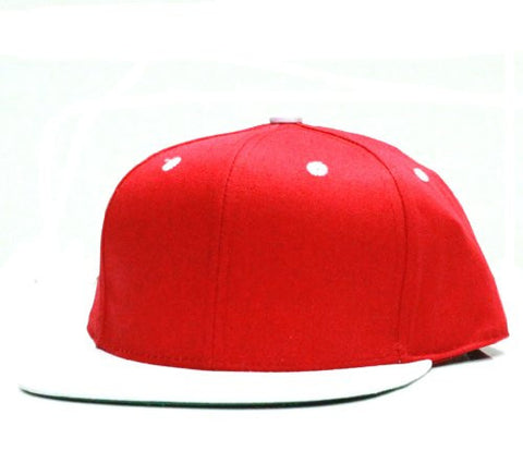 City Hunter CF919T New Cotton Two Tone Snapback-red/white - One Size