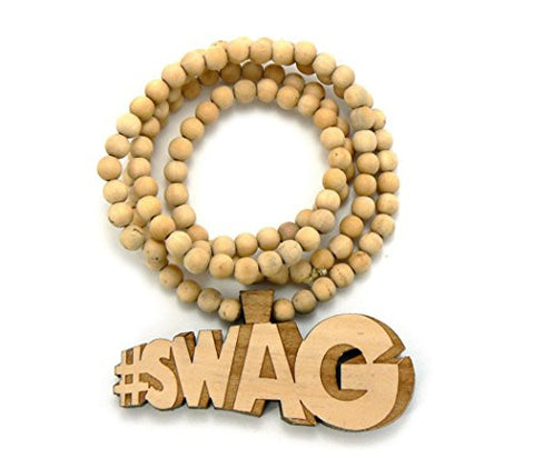 #SWAG Wood Necklace