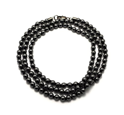 Artificial Stone Bead Chain Necklace