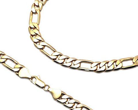 Unisex Figaro Chain Necklace