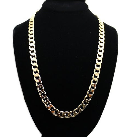 Celebrity Look Link Chain Necklace