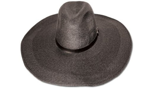 Women's Straw Paper Big Wide Floppy Hat W/BK Band FL1465