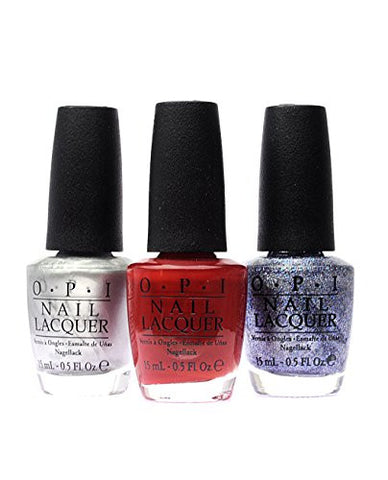 OPI Nail Polish 50 Fifty Shades of Grey 3-Pack F74+F75+F77