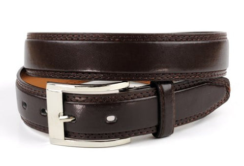 Unisex Casual Adjustable Faux Leather Belt w/ Single Pin Buckle LDM18