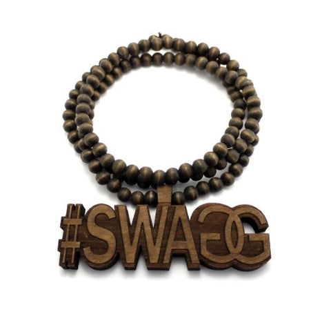 #SWAGG Wood Necklace