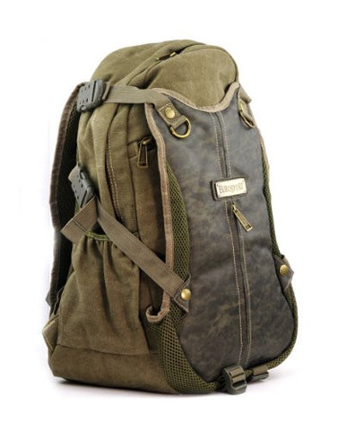 EuroSport Washed Canvas Cargo Backpack B700