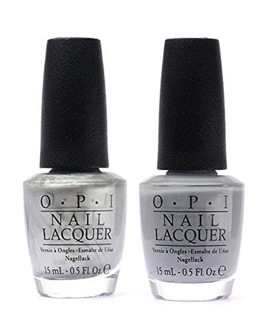OPI Nail Polish 50 Fifty Shades of Grey DUO F74+F78