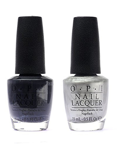 OPI Nail Polish 50 Fifty Shades of Grey DUO F74+F76