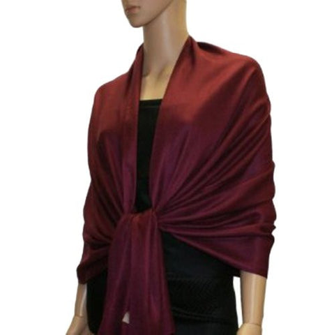 100% Pashmina Scarf Shawl Wrap (68 Colors to choose)