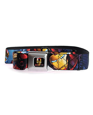 Avengers Assemble Iron Man in Action Seatbelt Belt