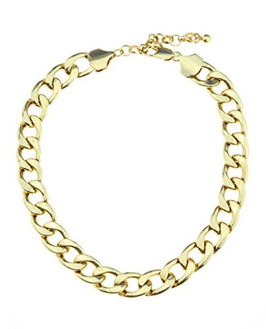 Trendy Metal Link Chain Necklace