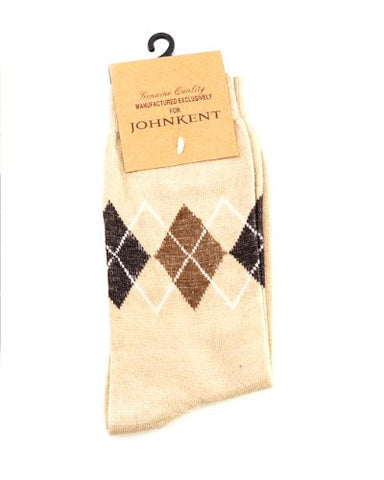 NYfashion101 Men's Casual Argyle Pattern Socks By The Dozen