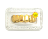 Hip Hop Rapper's Style Dental Grillz in Gold-Tone, FHL001G