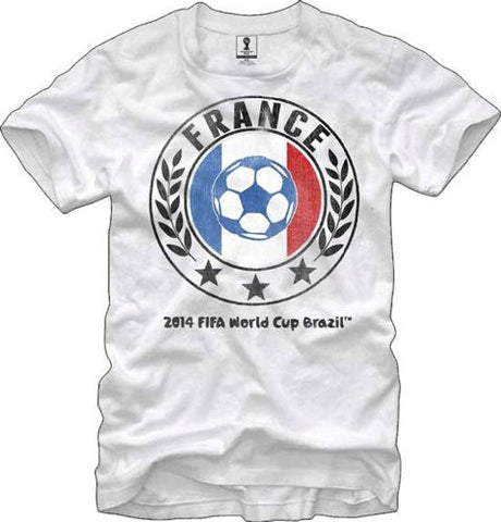 FIFA Officially Licensed Brazil World Cup T-shirt Team France