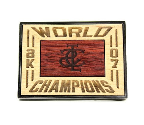 World Champion Belt Buckle