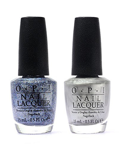 OPI Nail Polish 50 Fifty Shades of Grey DUO F74+F77