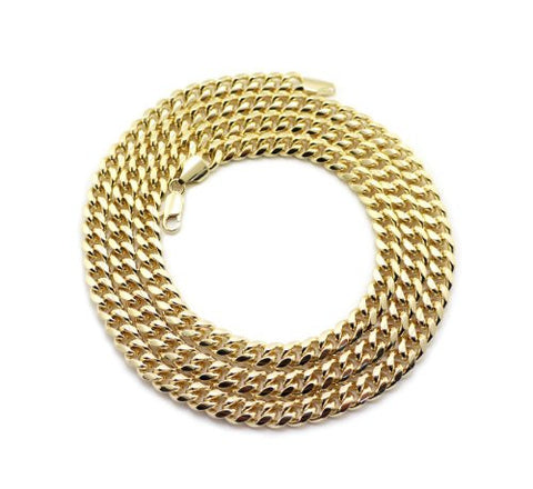 Quality Miami Cuban Link Chain Necklace