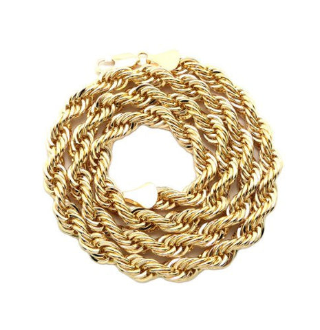 Unisex Hip Hop Fashion Rope Chain Necklace