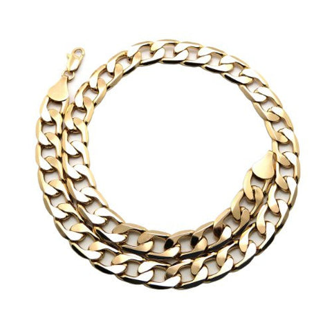 Trendy Celebrity Look Cuban Link Chain Necklace