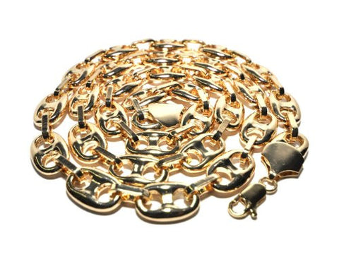 Polished Mariner Chain Necklace