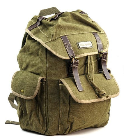 EuroSport Washed Canvas Cargo Backpack B726