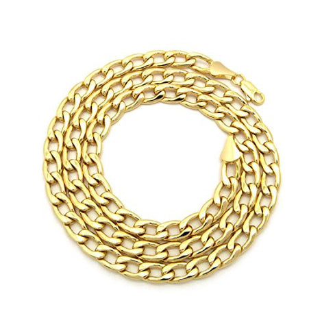 Unisex Hip Hop Cuban Link Chain Necklace