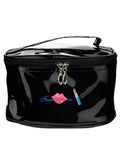 Travel Portable Makeup Toiletry Organizer Cosmetic Bag with Mirror