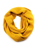 NYfashion101 Soft Warm Acrylic Infinity Scarf w/ Glittered Accent